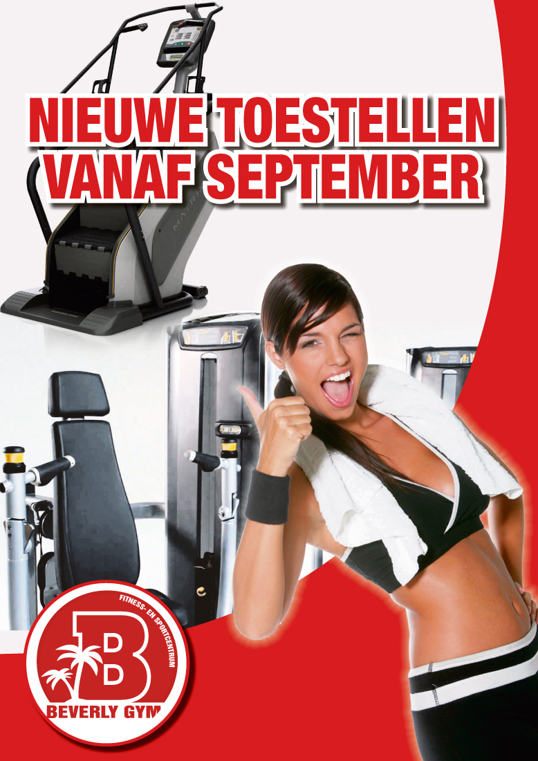 Nieuwe fitness apparaten September 2014